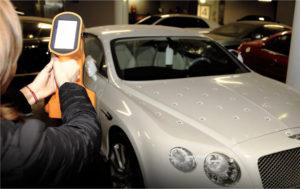 ręczny skaner 3d do skanowania samochodów