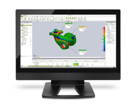 skaner 3D geomagic control x kotrola jakości